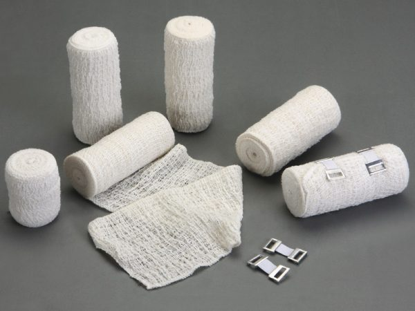 elastic crepe bandage bleached