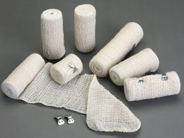 natural color elastic crepe bandage
