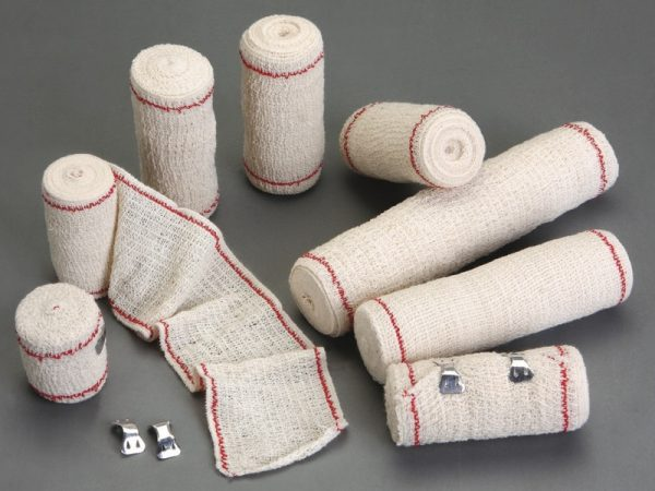 red thread Elastic crepe bandage