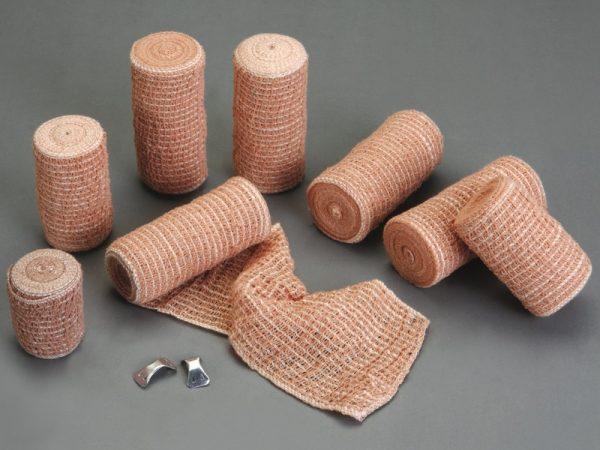 skin color elastic crepe bandage