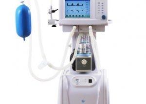 Neonatal Ventilator with air compressor H-100D