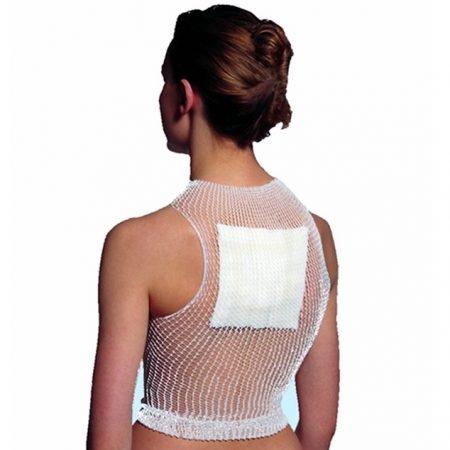 elastic tubular net bandage Back