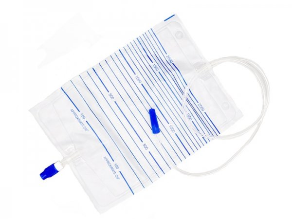 Economic Urine Bag Screw valve outlet