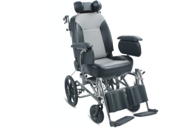 FS203BJ Reclining Steel Wheelchair