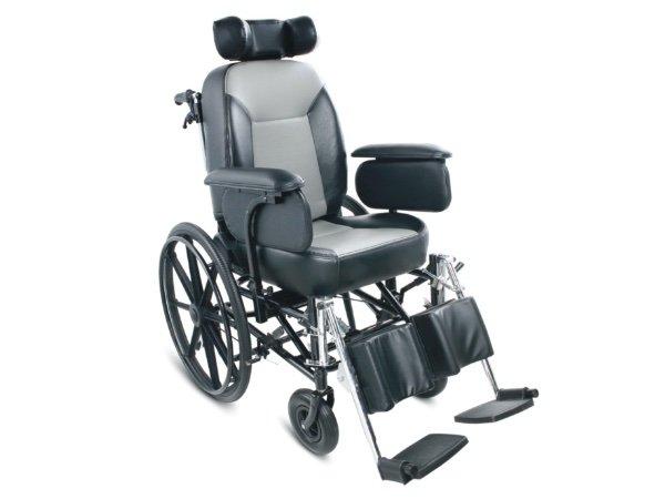 FS204BJ Reclining High Back wheelchair STEEL