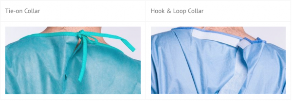 Disposable Surgical Gown Collar