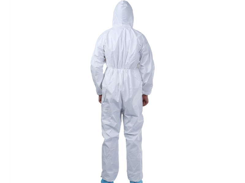 Disposable Coverall BACK View