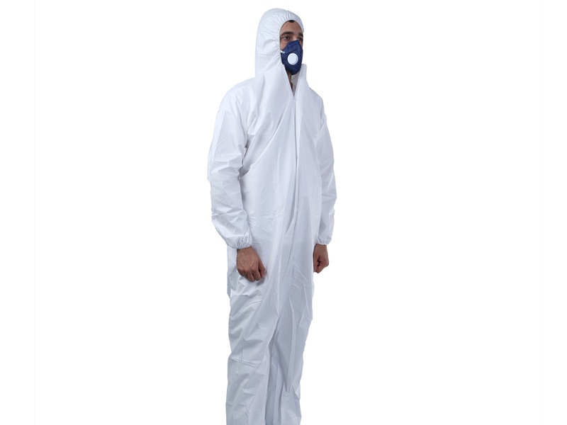 Disposable Coverall SIDE View