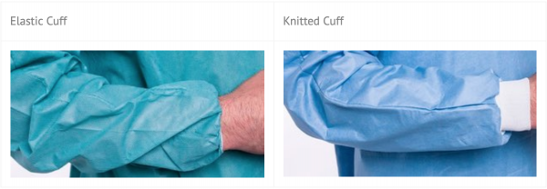 Surgical Gown Cuff Type