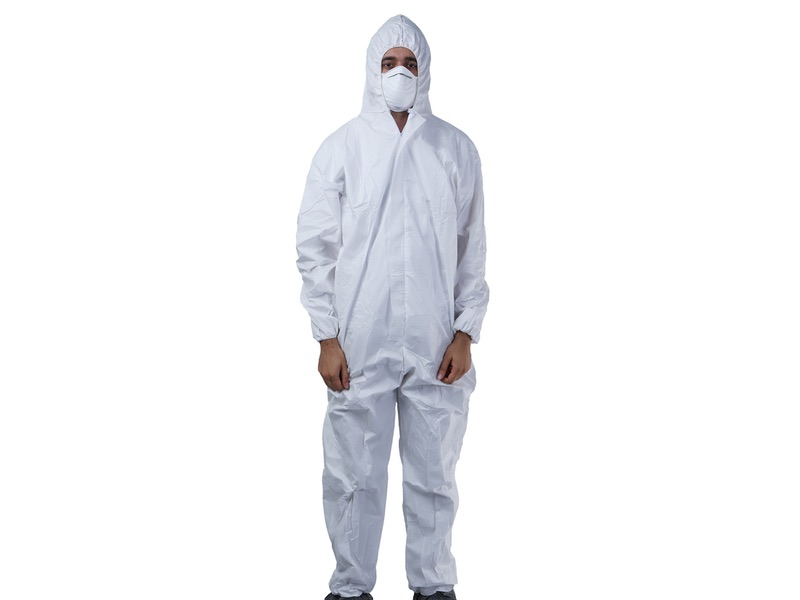 Disposable Coverall FRONT View