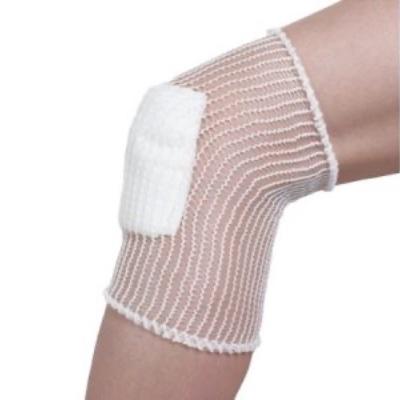 elastic tubular net bandage knee
