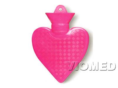 Hot water bag heart shape