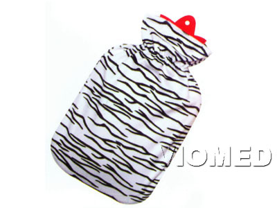 Hot water bag with fabric cover