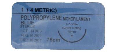 polypropylene monofilament sutures