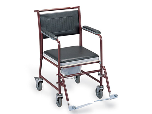 steel commode chair #FS691