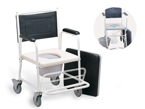 Steel commode chair #FS693