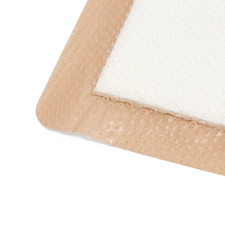 details of silicone foam dressing