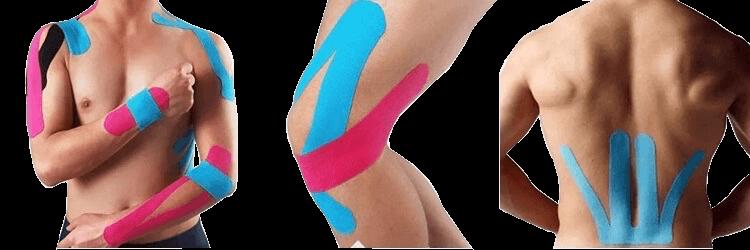 kinesiology tape application