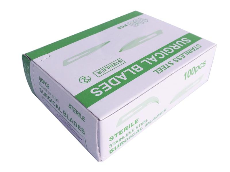 surgical blades box