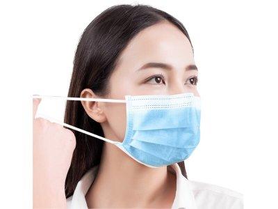 3ply face mask earloop